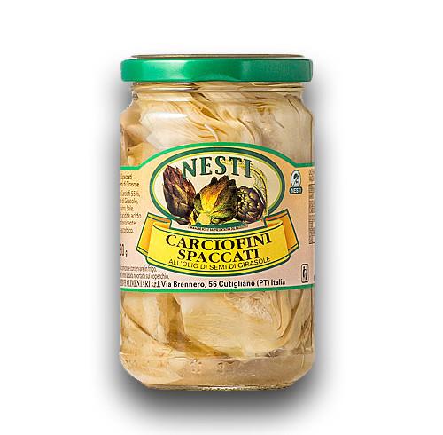 """Pasta with """"carciofini"""" """"Nesti"""""""