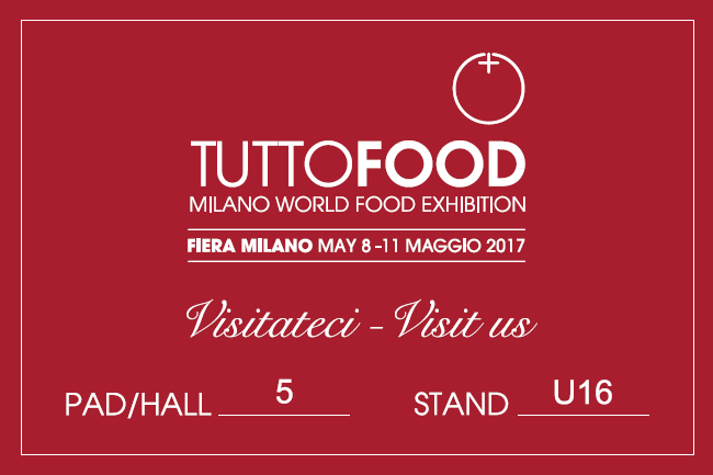 "Partecipation at the Fair of Milan – ""Tutto Food"" 2017"