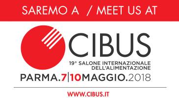 """Partecipation at the Fair of Parma – """"Cibus"""" 2018"""